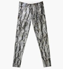 Oak Bark Print Leggings