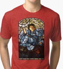 "Edward Burne-Jones ""The morning star""  Tri-blend T-Shirt"