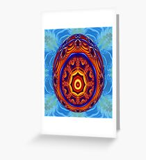 Faberge Egg Print Greeting Card
