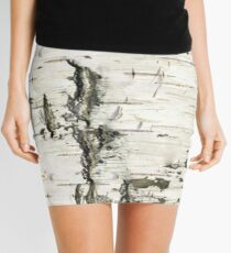 Birch Bark Mini Skirt
