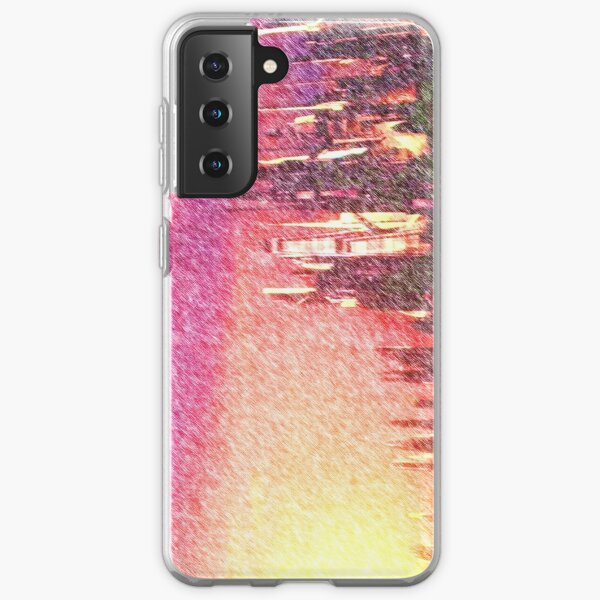 Alteran sunset Samsung Galaxy Soft Case