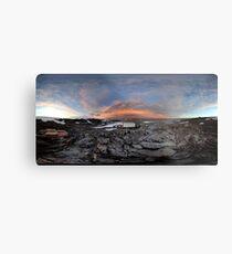 Pensive Skies, Cape Dension, Antarctica Metal Print