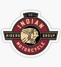 Indian Motorcycle Riders Group Sticker