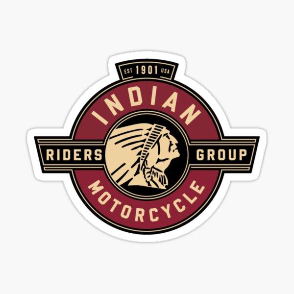Groupe de motards indiens Sticker