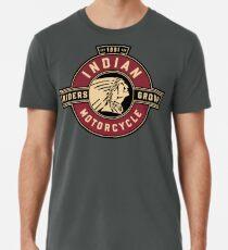 Indische Motorradfahrer Gruppe Premium T-Shirt