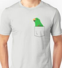 ac61f26fb Eclectus Male Parrot In Your Front Pocket Slim Fit T-Shirt