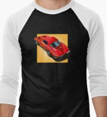 1963 Corvette Split Window Fastback Red Yellow T-Shirt