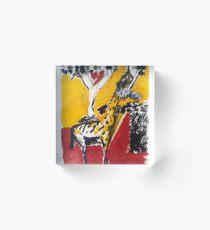 Giraffe Acrylic Block