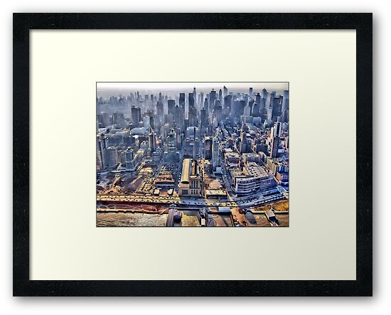 Early Morning Over New York City by Evelina Kremsdorf