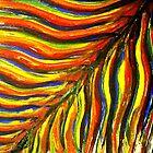 Rainbow Maui Palm by WhiteDove Studio kj gordon