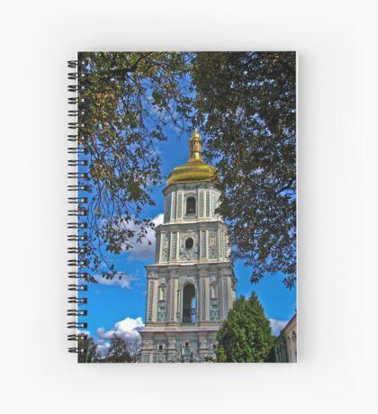Софийский собор- колокольня Spiral Notebook