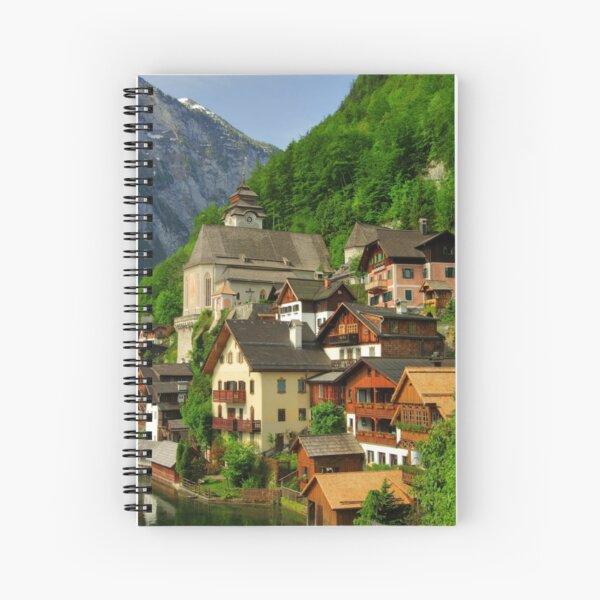Living on the hillside Spiral Notebook