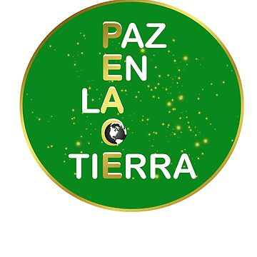 Peace on Earth | Bilingual | Spanish Teacher | Holiday Sticker | ESL Teacher by Perspectvas