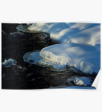 Floating pillows Poster