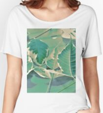 Acer Negundo 'Flamingo' Leaves Women's Relaxed Fit T-Shirt
