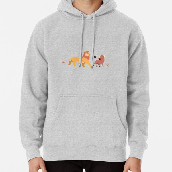 The Lion King - Timón, Pumba, Simba Pullover Hoodie