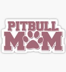 Pitbull MOM Sticker
