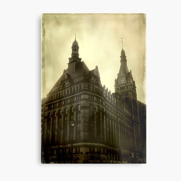 Good Old Milwaukee!!! © Metal Print