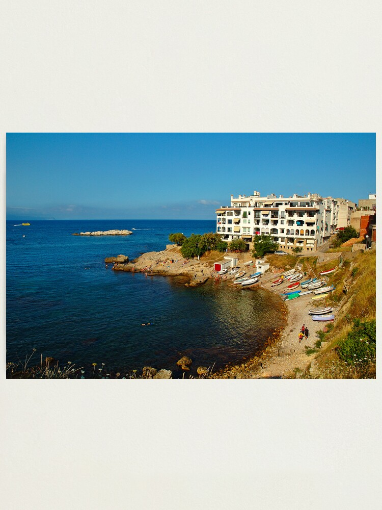 Alternate view of L'Escala, Costa Brava, Catalonia, Spain Photographic Print