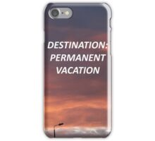 """""""Permanent Vacation"""" 5SOS Inspired Design iPhone Case/Skin"""