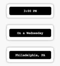 Philadelphia, PA Sticker