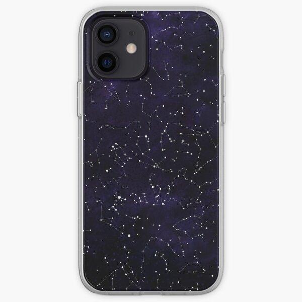 Constellations de l'hémisphère Nord Coque souple iPhone