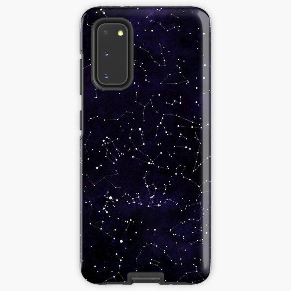 Northern Hemisphere Constellations Samsung Galaxy Tough Case