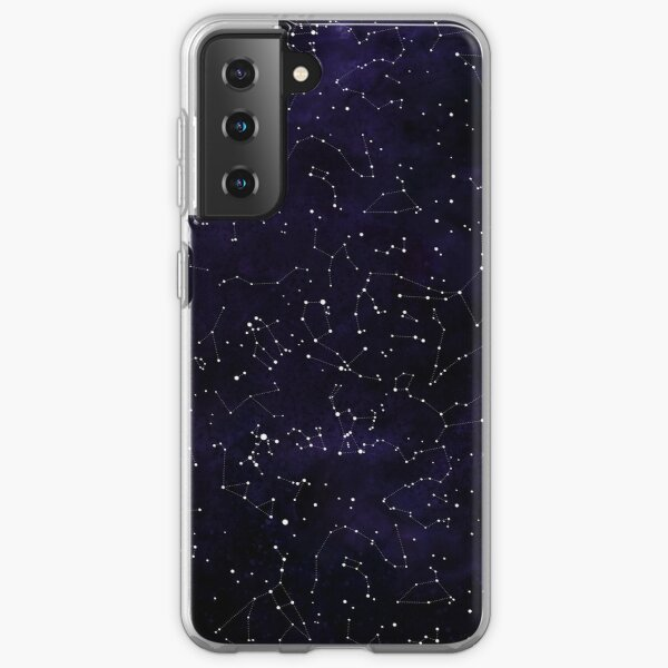 Northern Hemisphere Constellations Samsung Galaxy Soft Case