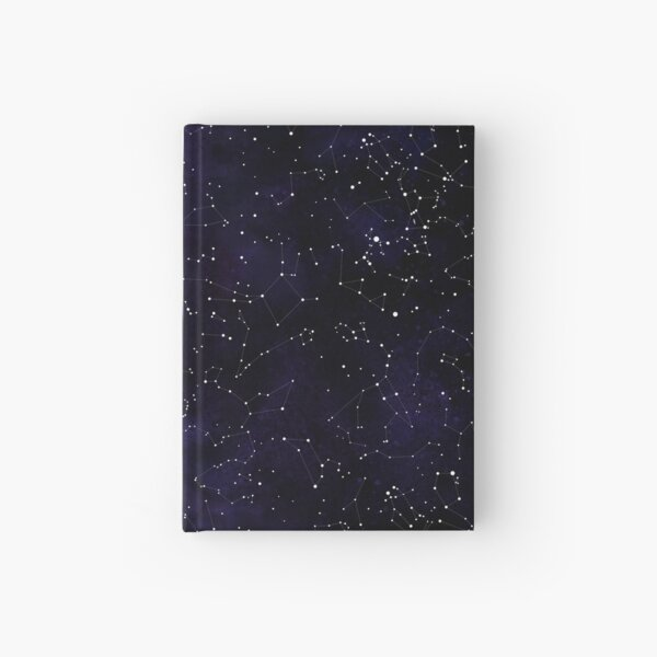 Northern Hemisphere Constellations Hardcover Journal