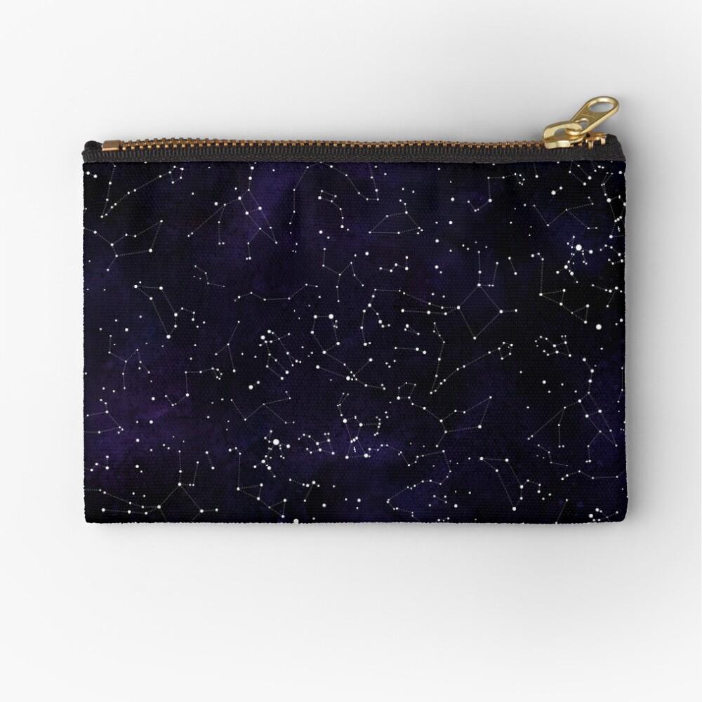 Northern Hemisphere Constellations Zipper Pouch