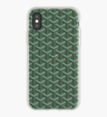 Goyard Green iPhone-Hülle & Cover