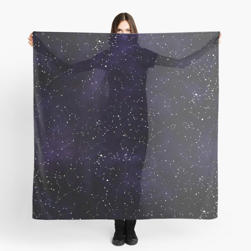 Northern Hemisphere Constellations Scarf