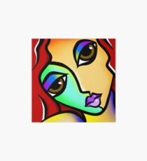 Bright Colorful Pop Art Woman-Piper Art Board