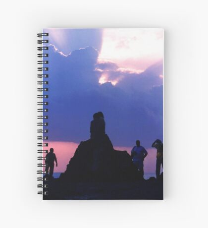 The Sun is Setting Spiral Notebook