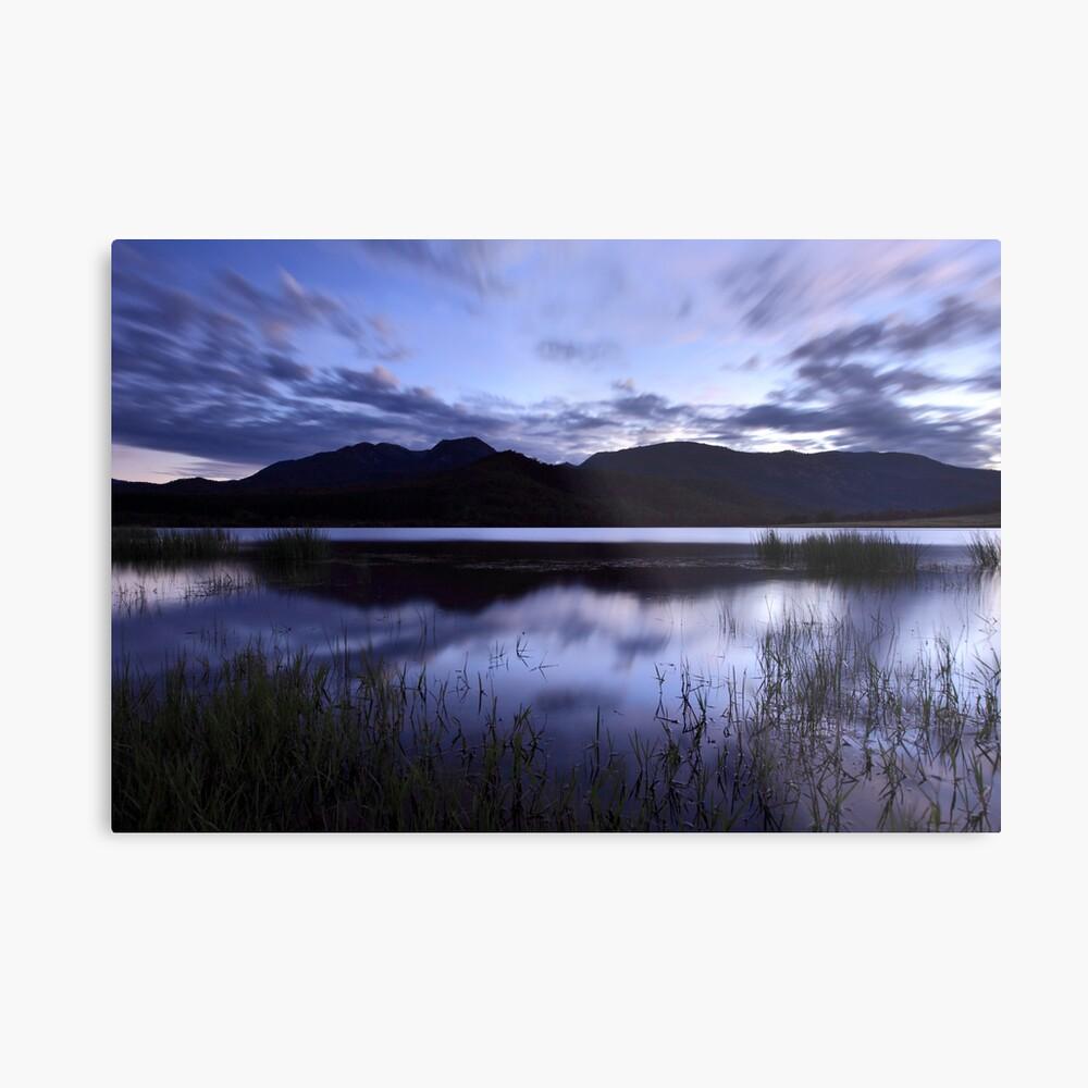 Dawn Reflections, Mount Buffalo, Victoria, Australia Metal Print