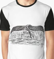 Whale by Laura Jaen Graphic T-Shirt