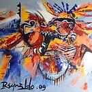 Spirit of The Warrior  by Reynaldo