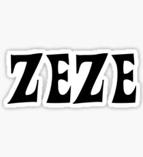 Zeze Sticker