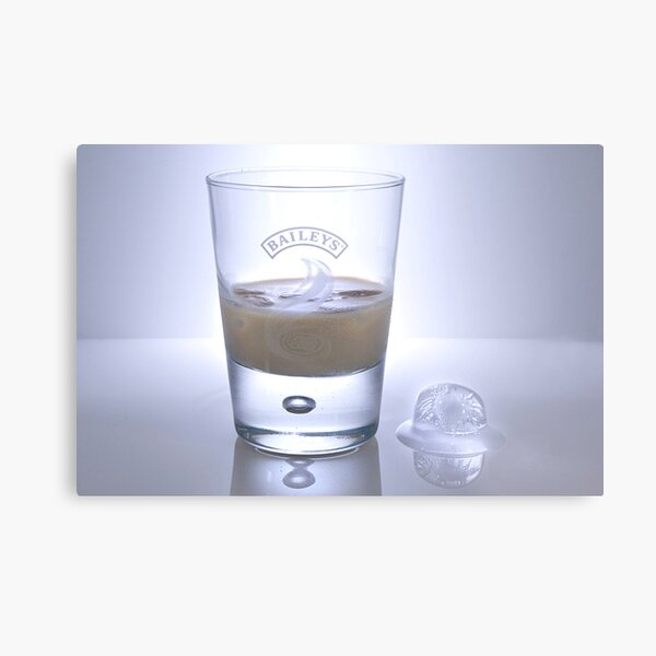 Baileys and Ice Metal Print