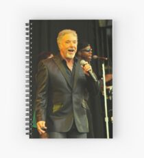 Tom Jones Spiral Notebook