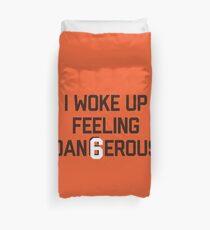 Ich wachte auf und fühlte mich schwer Bettbezug