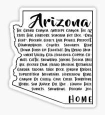 Just Arizona State Things  Sticker