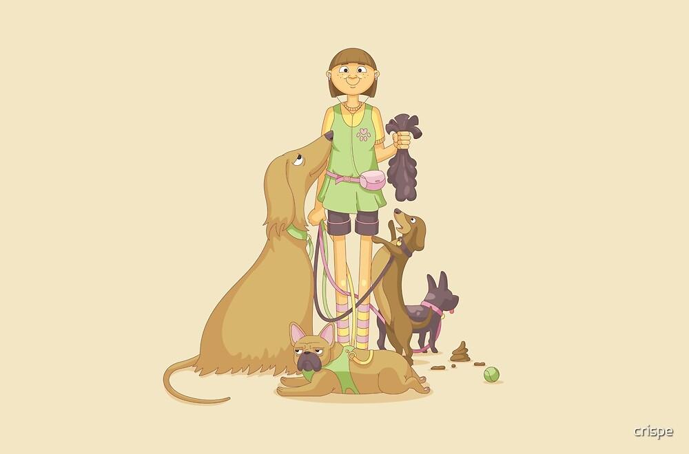 The Dog Walker by crispe