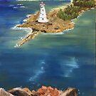 Karibischer Leuchtturm von Estelle O'Brien