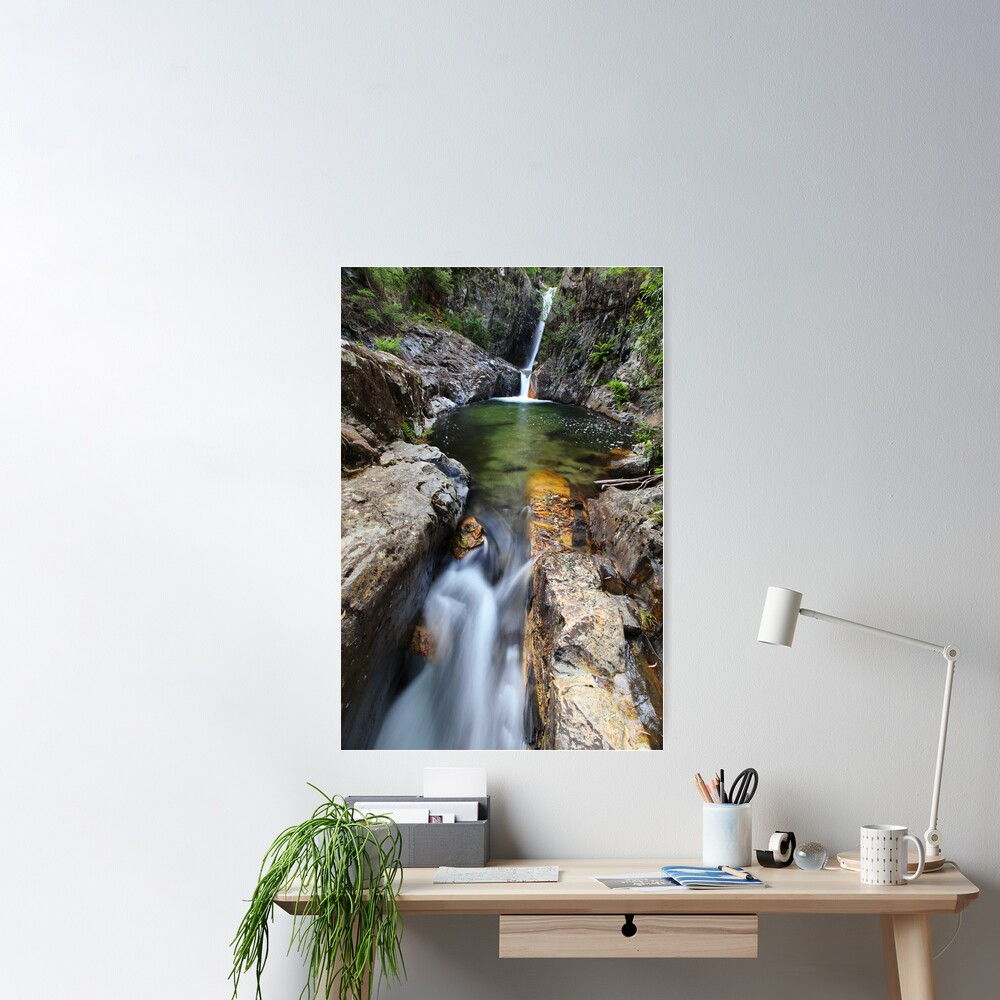 Rollason Falls, Mount Buffalo, Australia Poster