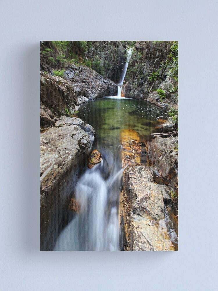 Alternate view of Rollason Falls, Mount Buffalo, Australia Canvas Print