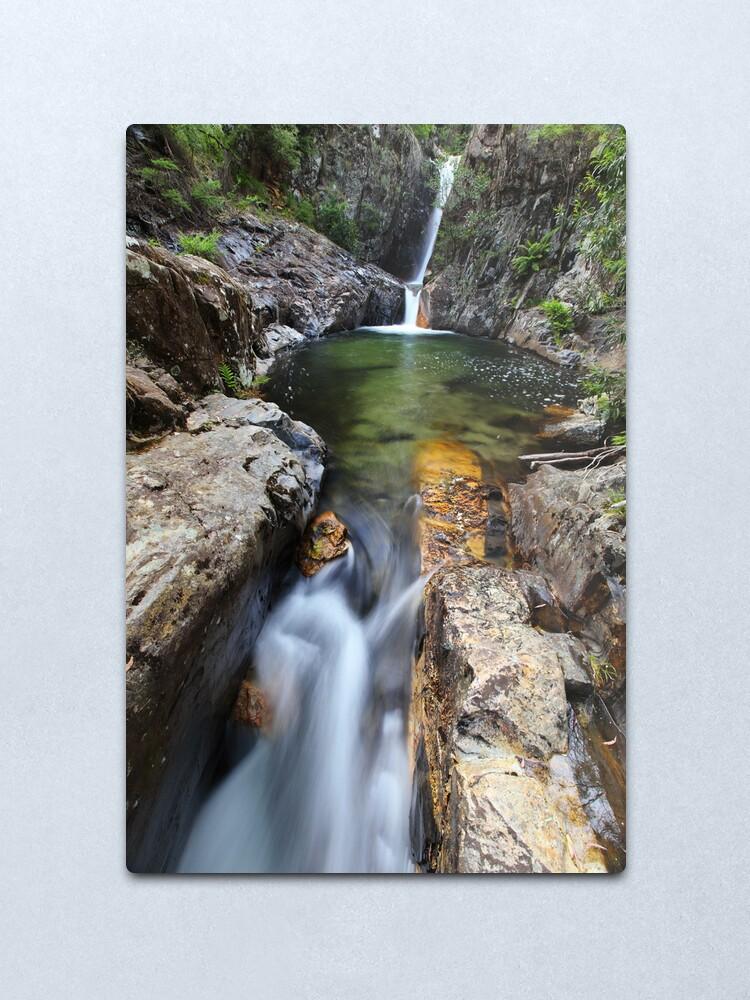 Alternate view of Rollason Falls, Mount Buffalo, Australia Metal Print