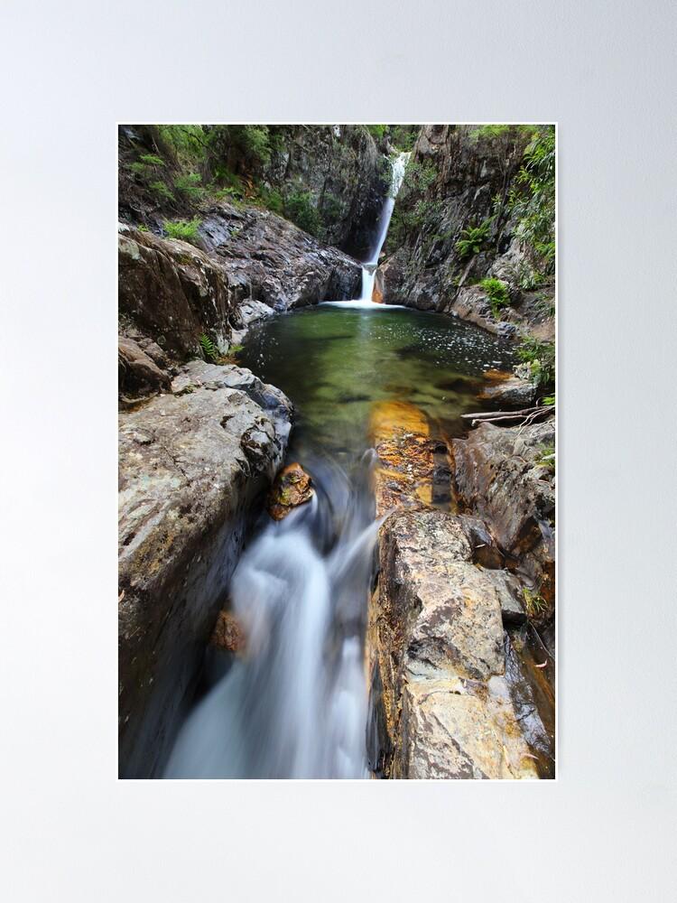 Alternate view of Rollason Falls, Mount Buffalo, Australia Poster