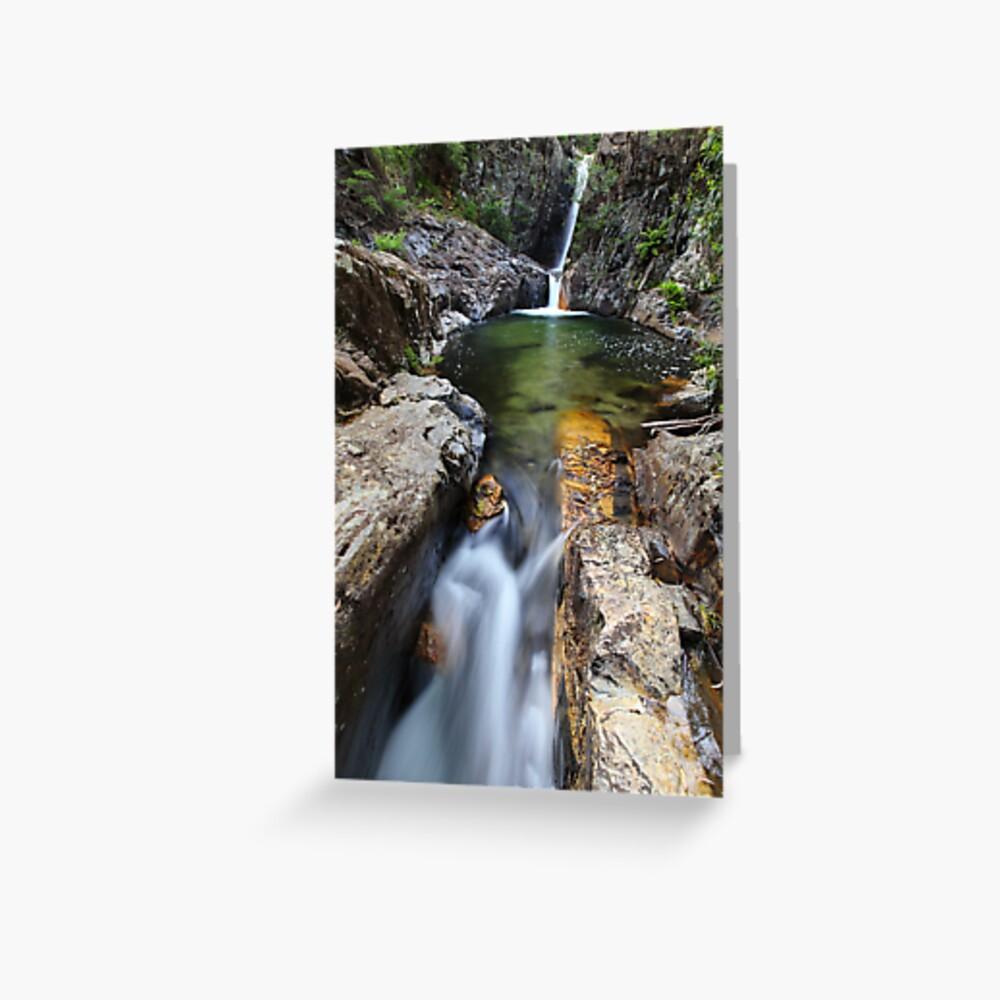 Rollason Falls, Mount Buffalo, Australia Greeting Card