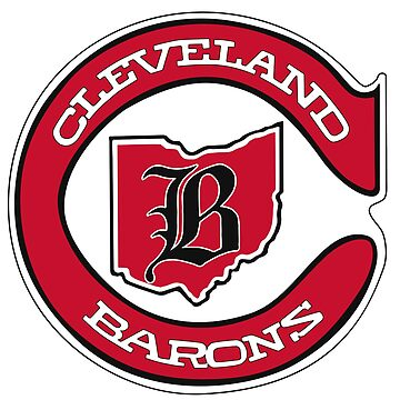 DEFUNCT - Cleveland Barons Hockey by localzonly